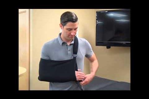 Shure Shoulder Immobilizer Application Video