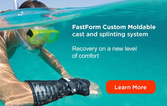 Fast Form custom moldable cast and splinting system