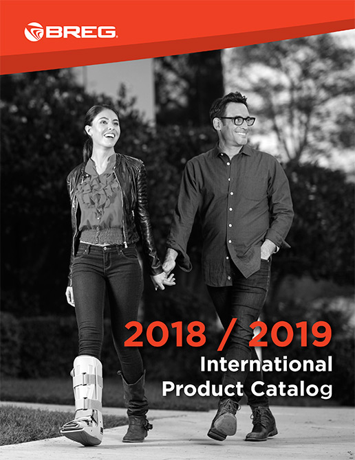 2018 Breg International Product Catalog