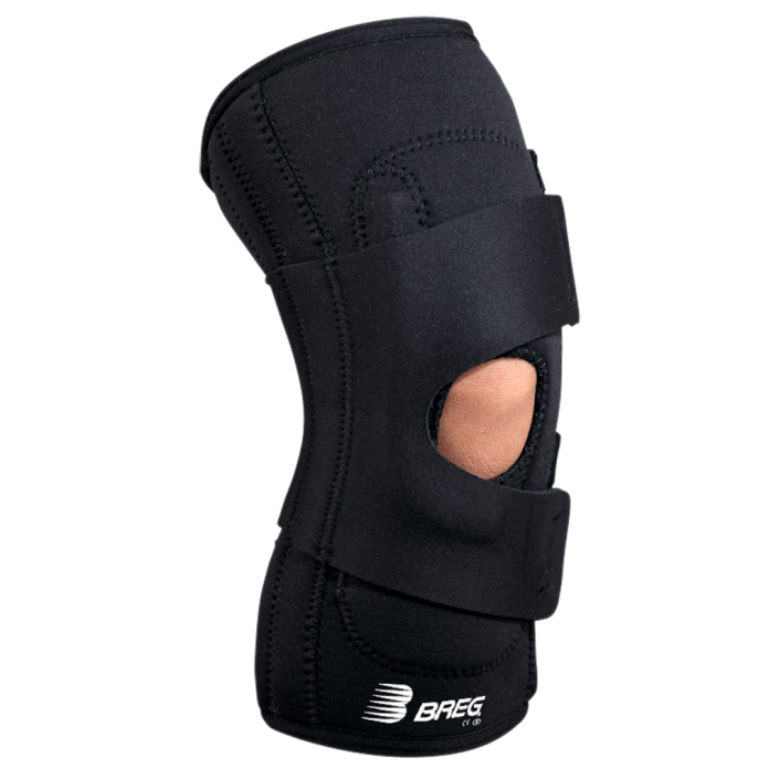 Lateral Stabilizer with Hinge Soft Knee Brace